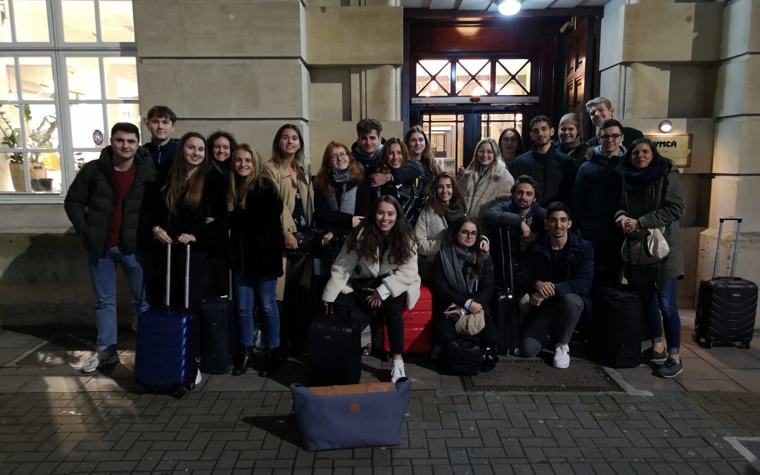 Séjour pédagogique à Bristol pour le groupe DUTI (DUT International)