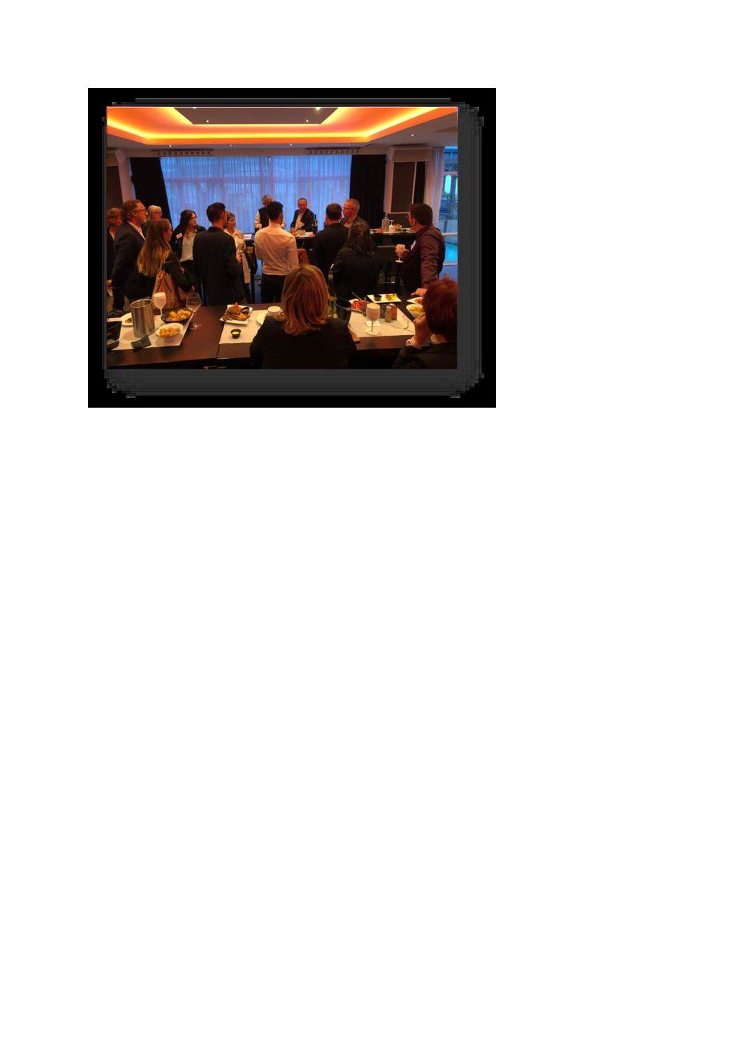 Soirée TC Partners rencontre avec les  tuteurs de stage