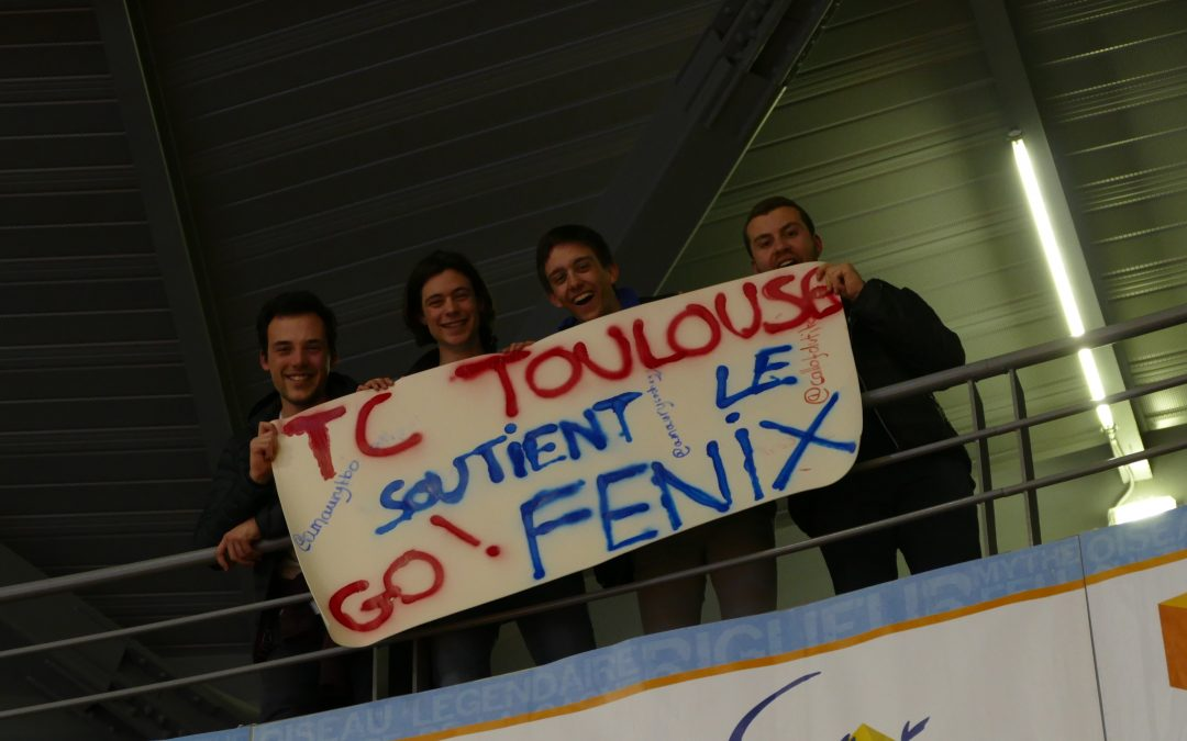 LES ETUDIANTS TC SUPPORTER  DU FENIX…